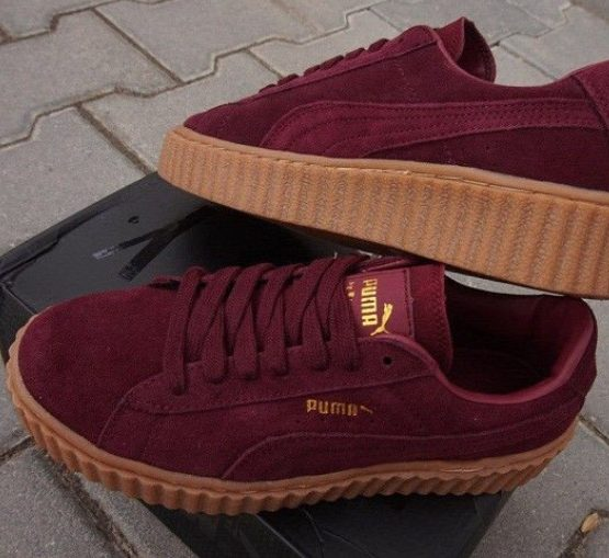 puma rihanna rouge bordeaux